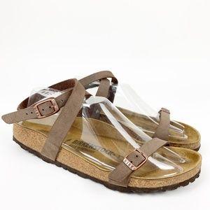 Birkenstock Daloa Mocha Narrow Ankle Strap Sandal